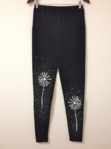 yoga pants, maternity, handmade, leggings